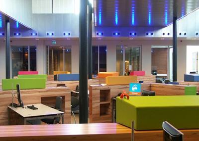 Bladgroen transformatie kantoren bladgroen for Interieur ontwerper